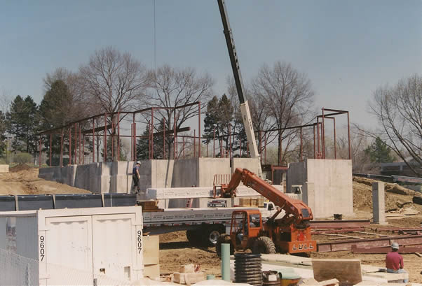Framing the Winter Quarters Temple