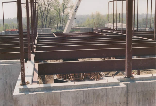 Beams and Girders of Winter Quarters Temple